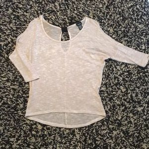 Rue21–Sheer Bow Back Top